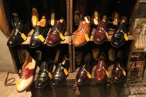 "「WORKERS」 \""Open Collar Shirt, Black Linen\"" & 「Vintage Dress Shoes」 ご紹介_f0191324_08345769.jpg"