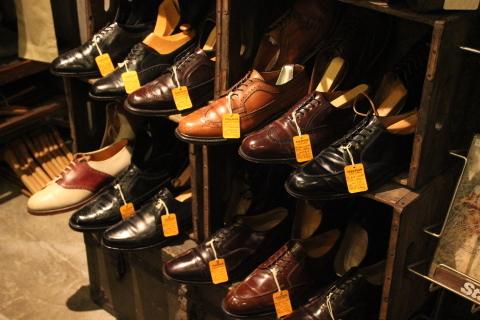 "「WORKERS」 \""Open Collar Shirt, Black Linen\"" & 「Vintage Dress Shoes」 ご紹介_f0191324_08350390.jpg"