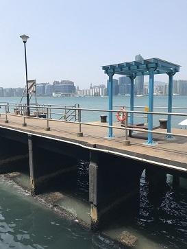 ビクトリアハーバーに臨む「北角海浜花園」☆North Point Promenade in North Point_f0371533_16024097.jpg