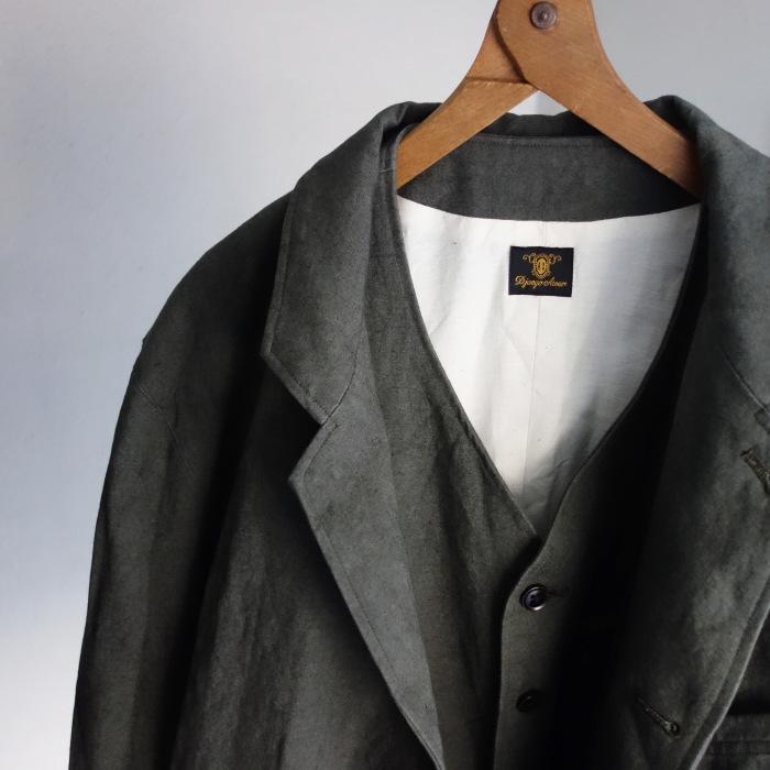 4月の製作 / classic irishworker jacket_e0130546_12435682.jpg
