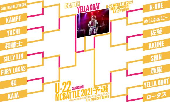 U-22 MCBATTLE 2021 最終予選 優勝は..._e0246863_02284803.jpg