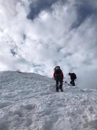 大山雪山登山_f0053665_12534157.jpg