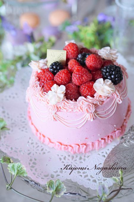 Kiyomi先生のピンクのお菓子でティータイム♪ - ミンミンゼミ