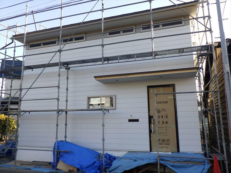 中野 「曲面天井の家」 大工工事進行中!_f0105112_04221311.jpg