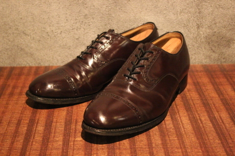 "「WORKERS」 ""3 PLY T, Slim\"" & 「Vintage Dress Shoes」 ご紹介_f0191324_07565070.jpg"