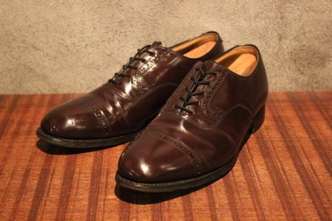 "「WORKERS」 \""3 PLY T, Slim\"" & 「Vintage Dress Shoes」 ご紹介_f0191324_07565070.jpg"