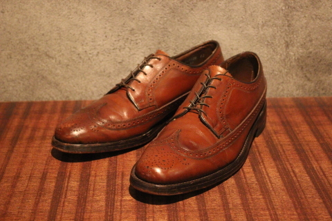"「WORKERS」 ""3 PLY T, Slim\"" & 「Vintage Dress Shoes」 ご紹介_f0191324_07571569.jpg"