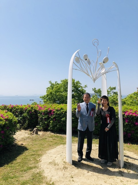 蒲刈島 モニュメント_b0072234_14160649.jpg