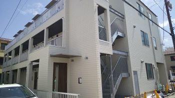 完工まであと少し! 新築アパート紹介します_c0146040_18344324.jpg
