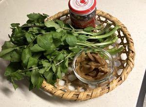 クレソンと搾菜の和え物_f0157847_15021769.jpg
