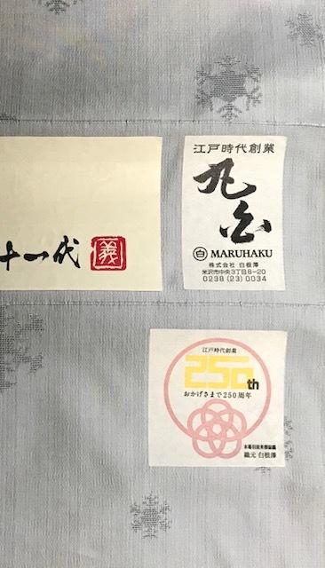米沢もじり織・雪の結晶柄の着物・単衣・夏。_f0181251_19433079.jpg