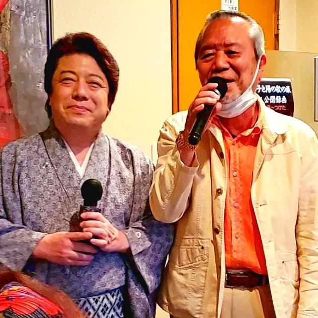 「秀治と涼子と陽の歌の旅」4月ロケ収録_b0083801_11392010.jpg