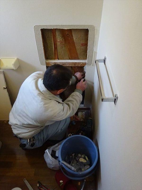 トイレのリフォーム工事_f0105112_05165285.jpg