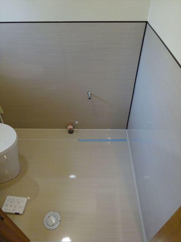 トイレのリフォーム工事_f0105112_05282952.jpg