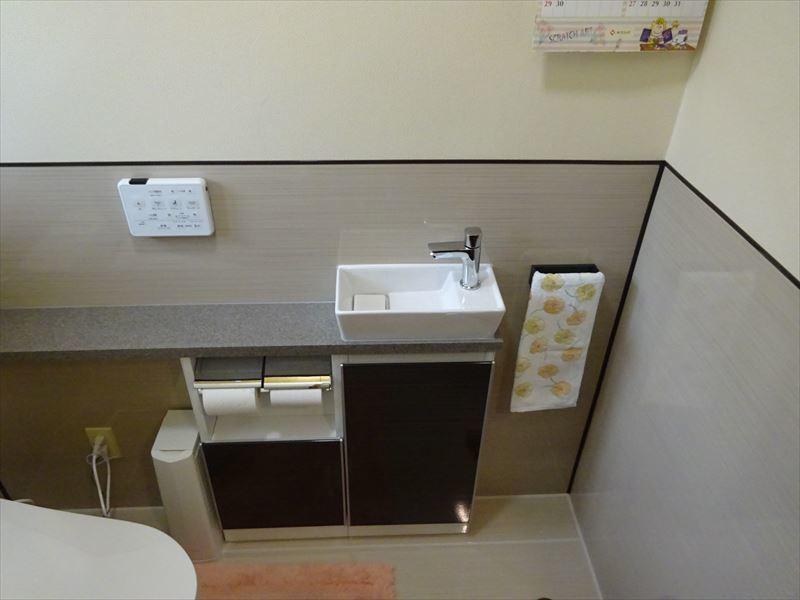 トイレのリフォーム工事_f0105112_05343924.jpg