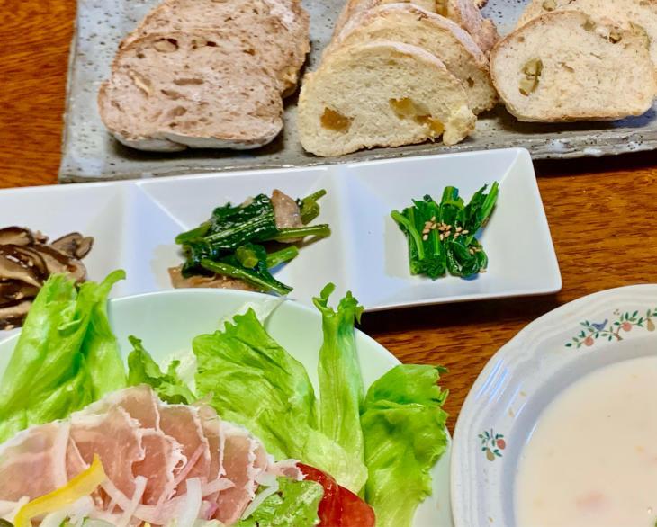 Tamago さんの パン作り教室とガーデンツアー2_b0093221_13110080.jpg