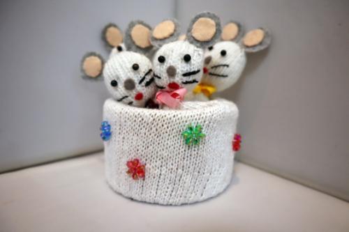 手袋人形 ~ ネズミ一家 ~_e0222340_18254021.jpg