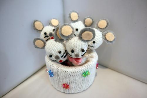 手袋人形 ~ ネズミ一家 ~_e0222340_18254244.jpg