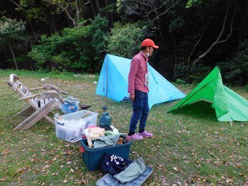 クローラー運搬車いじり&釣り&貧乏キャンプ_d0144550_14561810.jpg