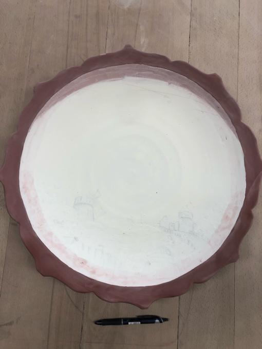 大皿の絵付け_c0298879_17504609.jpg