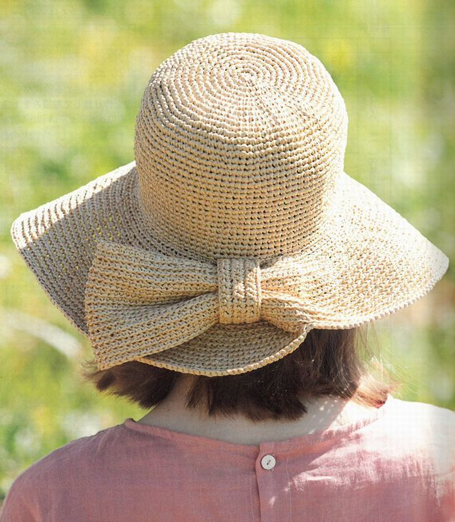 かぎ針編みの夏帽子 すてきにハンドメイド2021/05_d0156706_12464112.jpg