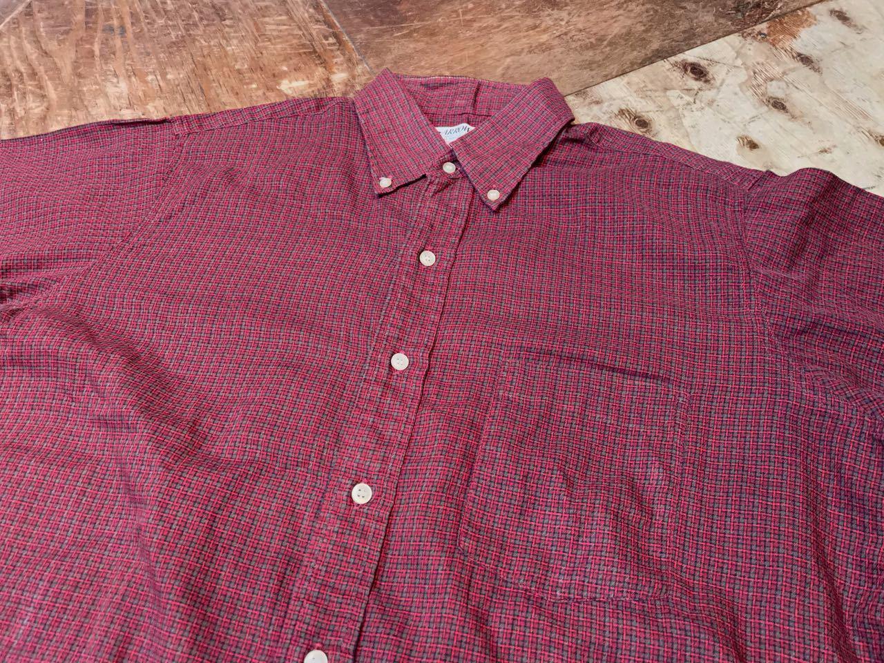 4月24日(土)入荷!60s all cotton  ARROW  B.D shirts /ボタンダウンシャツ _c0144020_14514639.jpg