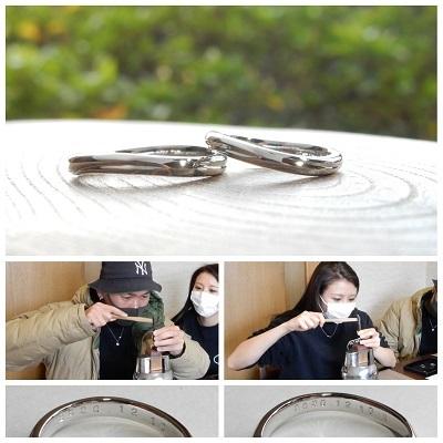結婚指輪|岡山_d0237570_11304263.jpg