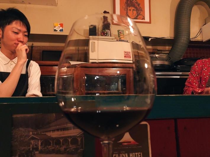 巣鴨「ワインとフルーツカクテルとボブ・ディランの店 MyLan」★★★☆☆_a0080579_07020376.jpg