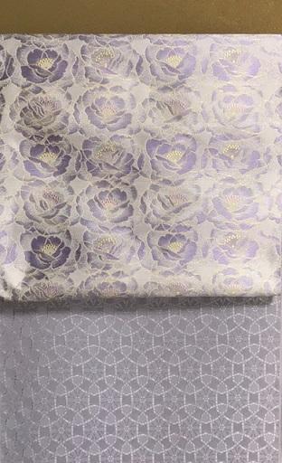 紫のコーディネイト・伊と幸色無地+まいづる九寸。_f0181251_17362823.jpg