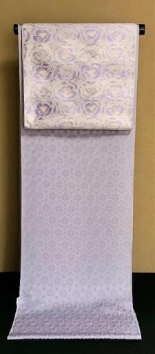 紫のコーディネイト・伊と幸色無地+まいづる九寸。_f0181251_17372333.jpg