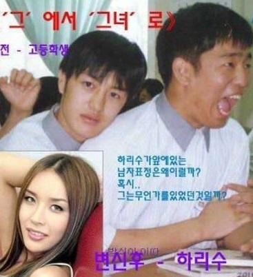 一日1億稼いだ??韓国初のトランスジェンダー芸能人ハリス 47歳現在の顔 結婚と離婚 過去_f0158064_01465948.jpg