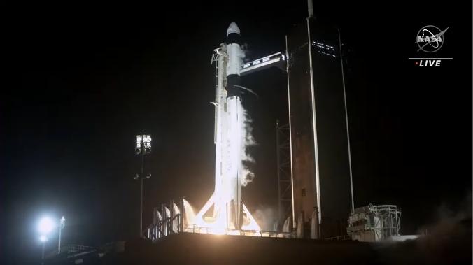 クルードラゴンも再使用型 星出さん搭乗 クルードラゴン Crew-2打ち上げ & ISS到着_f0079085_22290658.png