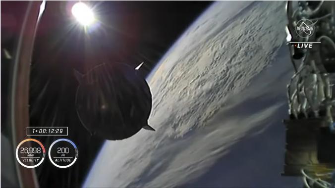 クルードラゴンも再使用型 星出さん搭乗 クルードラゴン Crew-2打ち上げ & ISS到着_f0079085_22290878.png