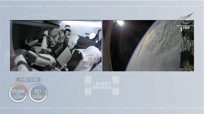 クルードラゴンも再使用型 星出さん搭乗 クルードラゴン Crew-2打ち上げ & ISS到着_f0079085_22291321.png