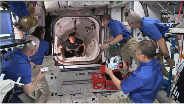 クルードラゴンも再使用型 星出さん搭乗 クルードラゴン Crew-2打ち上げ & ISS到着_f0079085_22581528.png
