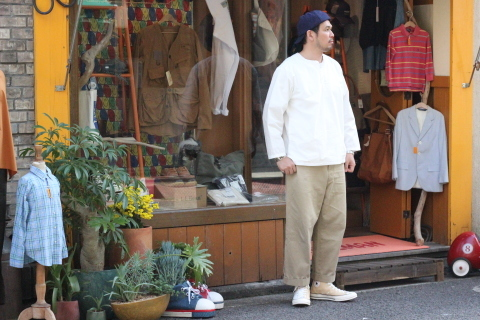 """「orSlow」 \""""PULLOVER SHIRTS\"""" & 「Vintage Dress Shoes」 ご紹介_f0191324_08391326.jpg"""