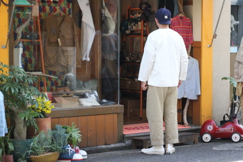 """「orSlow」 \""""PULLOVER SHIRTS\"""" & 「Vintage Dress Shoes」 ご紹介_f0191324_08393708.jpg"""