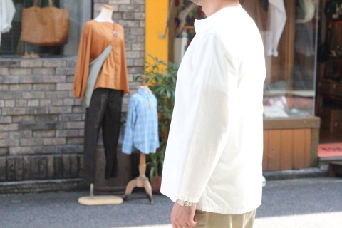 """「orSlow」 \""""PULLOVER SHIRTS\"""" & 「Vintage Dress Shoes」 ご紹介_f0191324_08395893.jpg"""