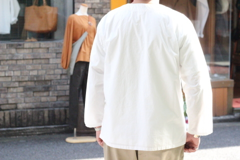 """「orSlow」 \""""PULLOVER SHIRTS\"""" & 「Vintage Dress Shoes」 ご紹介_f0191324_08400773.jpg"""