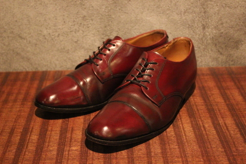 """「orSlow」 \""""PULLOVER SHIRTS\"""" & 「Vintage Dress Shoes」 ご紹介_f0191324_08414814.jpg"""