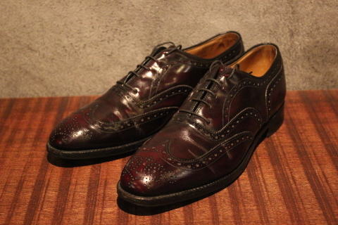 """「orSlow」 \""""PULLOVER SHIRTS\"""" & 「Vintage Dress Shoes」 ご紹介_f0191324_08421698.jpg"""