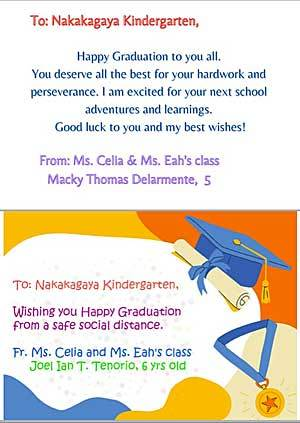 Congratulations messages from Philippines' sister preschool_e0325335_15403473.jpg