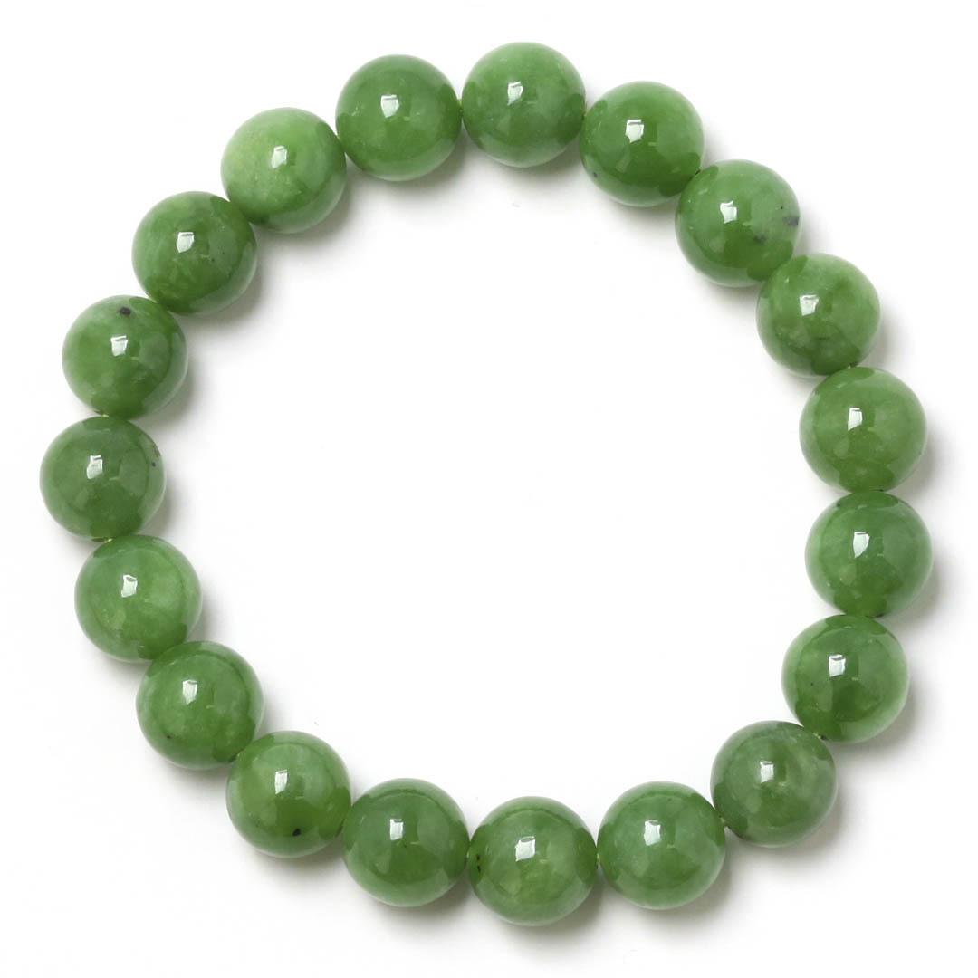 新緑を思わすみずみずしいネフライトのブレスレット_d0303974_13481461.jpg