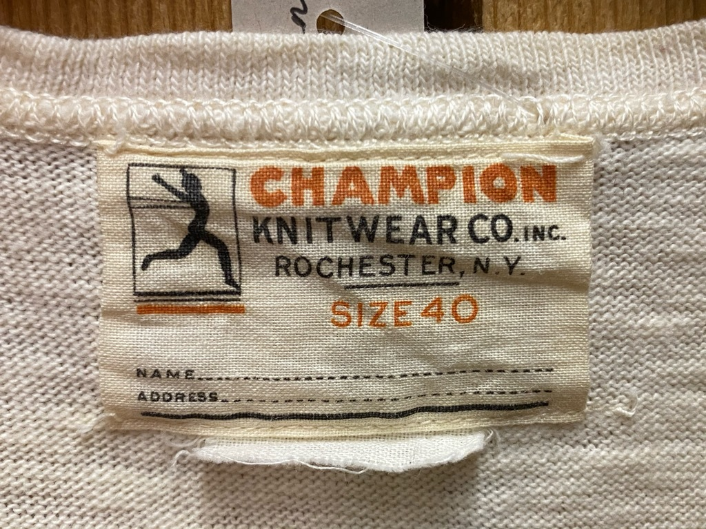 CHAMPION KNITWEAR CO.Inc(マグネッツ大阪アメ村店)_c0078587_13181261.jpg