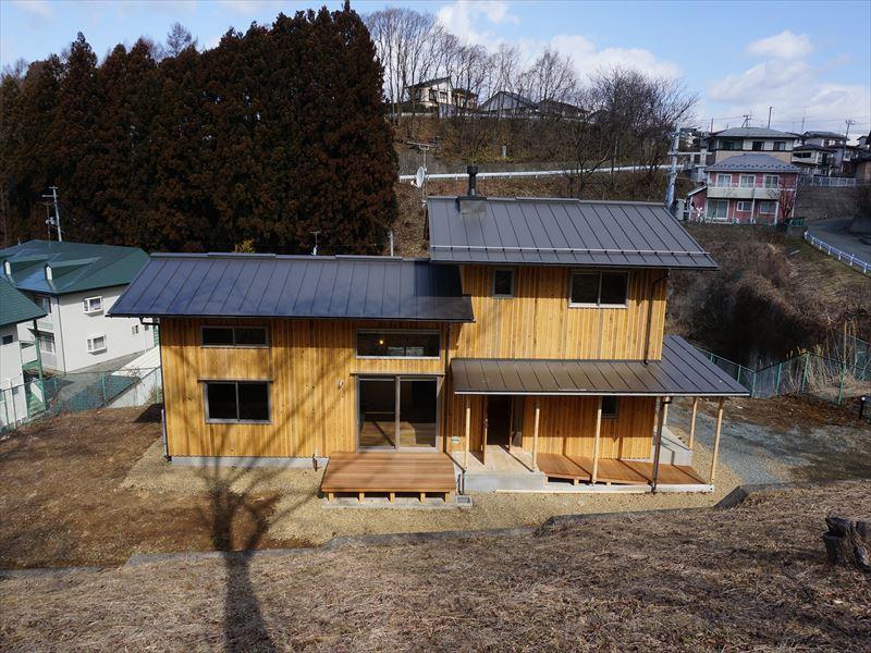 「黒石野の住宅」 完成写真①_f0105112_04252570.jpg