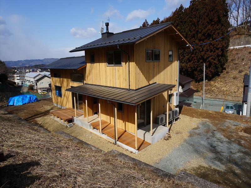 「黒石野の住宅」 完成写真①_f0105112_04252576.jpg
