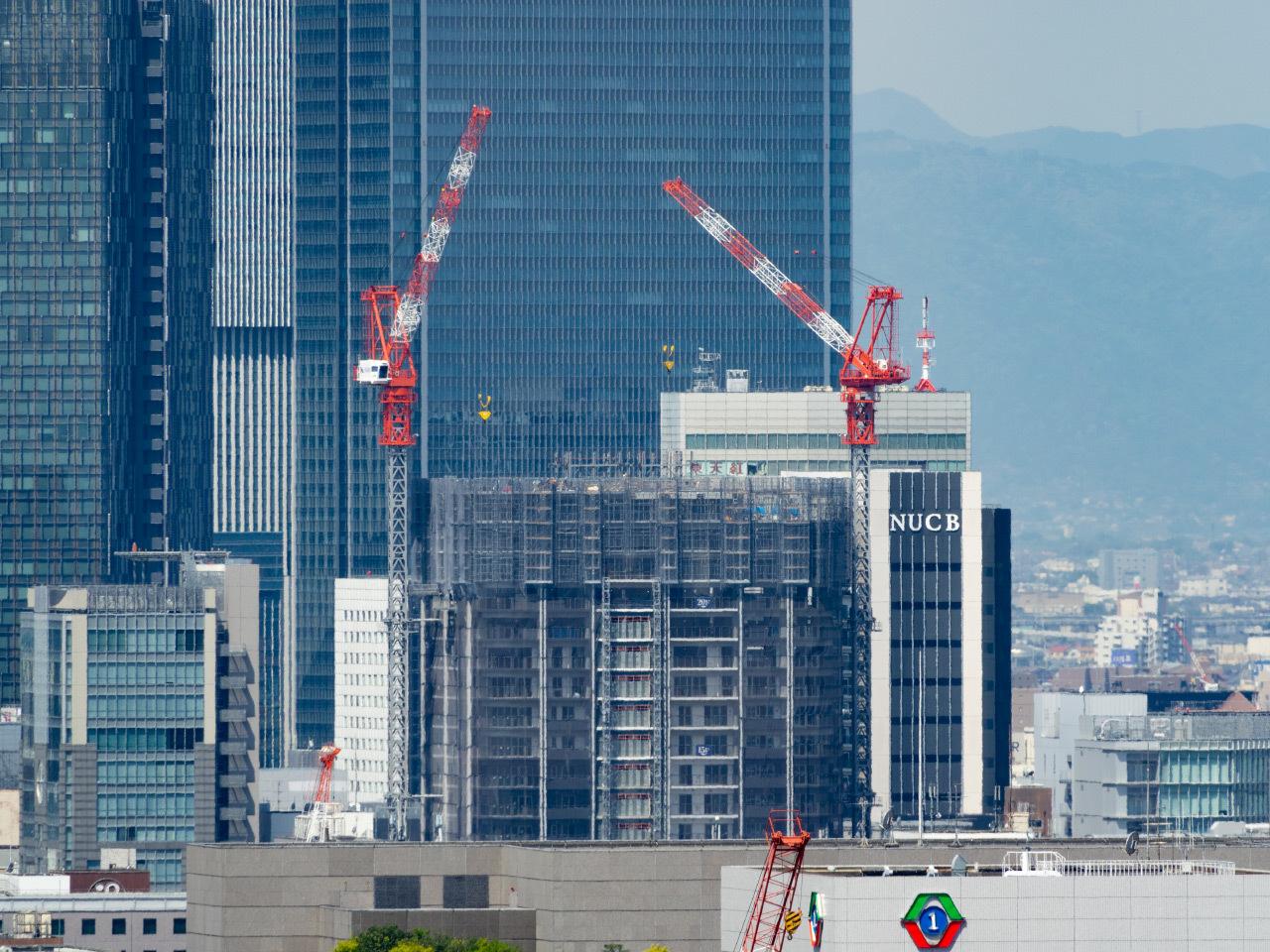プラウドタワー名古屋錦建設進捗_a0177616_14241717.jpg