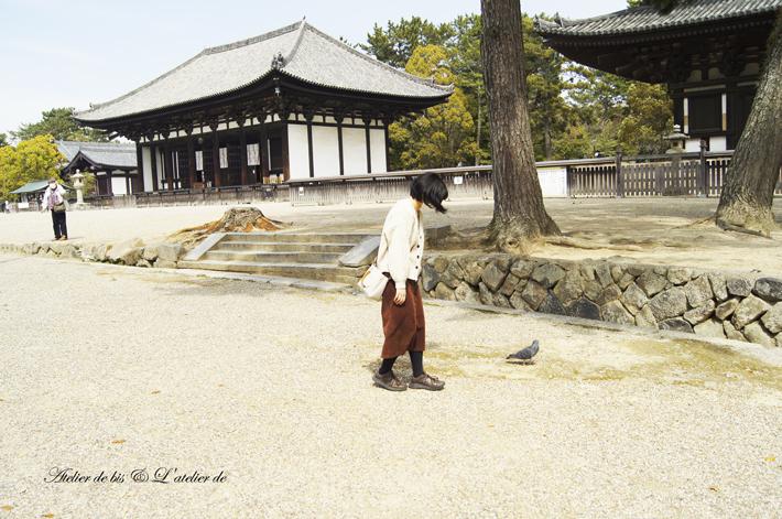 奈良散策のつづきとブックカフェ。_b0365901_11264546.jpg