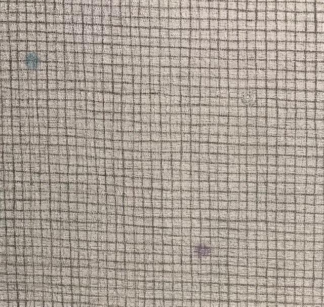 杉村・マジョルカ 桔梗円文袋帯+小紋。_f0181251_19555226.jpg