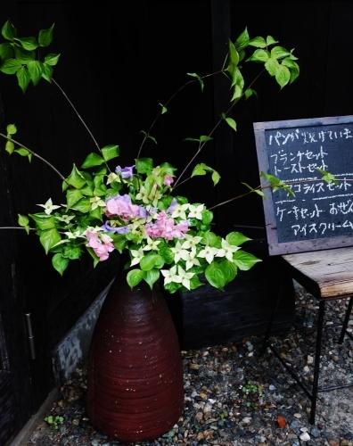 Oさんの お花です♡ 世界で一番かわいくて 賢い子??_e0167795_16230319.jpg